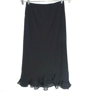 fc825a4329b MSK Ruffle Hem Long Length Skirt Women Size XL